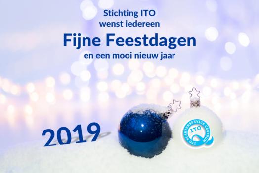 Fijn feestdagen en op naar een mooi, klantvriendelijk 2019!