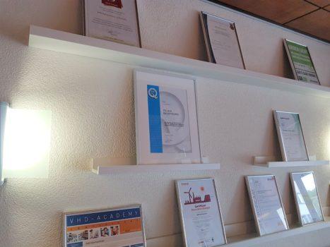 VHD: Nieuw certificaat op de kwaliteitsmuur